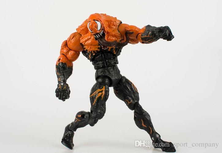 Marvel Venom PVC Action Figure Koleksiyon Model Oyuncak Süper Kahraman Örümcek Adam Avengers Karikatür Modeli Erkek Oyuncak Çoc ...