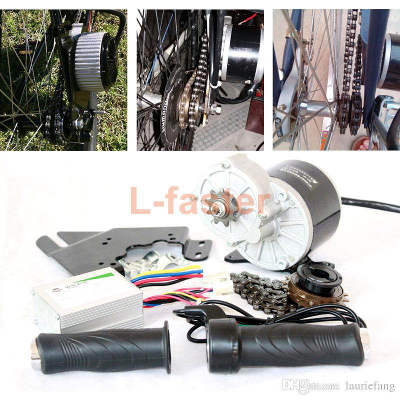 24V / 36V 350W 전기 모터 키트 전기 스쿠터 전환 키트 DIY 전자 자전거 HOMEMADE 전기 자전거 L-FASTER EBIKE MOTOR