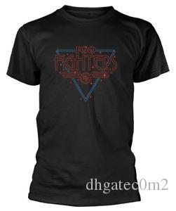 Foo Fighters Disco Outline T Shirt NUOVO UFFICIALE