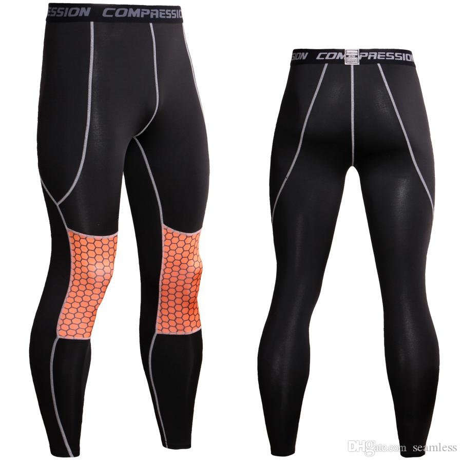 Wholesale Fitness Men Running Tights Gym Yoag Trousers Crossfit Jogger Sports Leggings Athleisure Sportswear Jog Elastic Cycling Pants