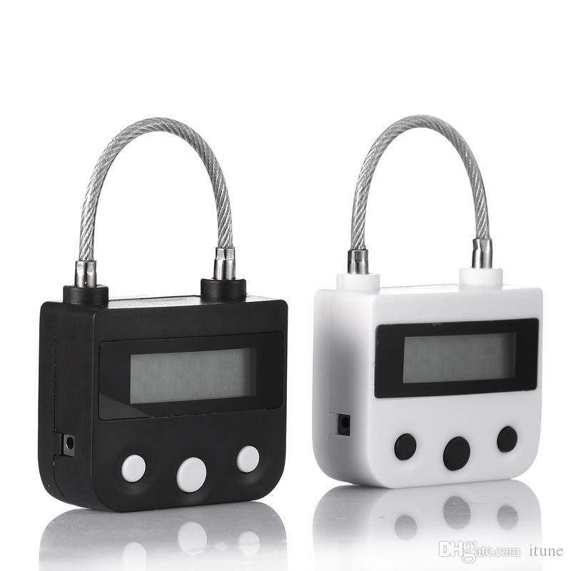 DHL CHASTTY CLASTY USB TIMER MODIORMENT Multipe multi-usage pour les couples de fétichisme des navires Serrure pour la formation d'esclaves d'esclave ToysJouets Jeux Sex BDSM Adulte Uhua