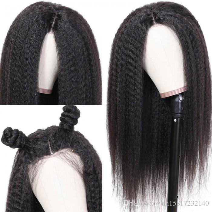 cheveux populaire série cheveux crépus cheveux humain américain à long africain pour les femmes afro-américaines de longueur moyenne