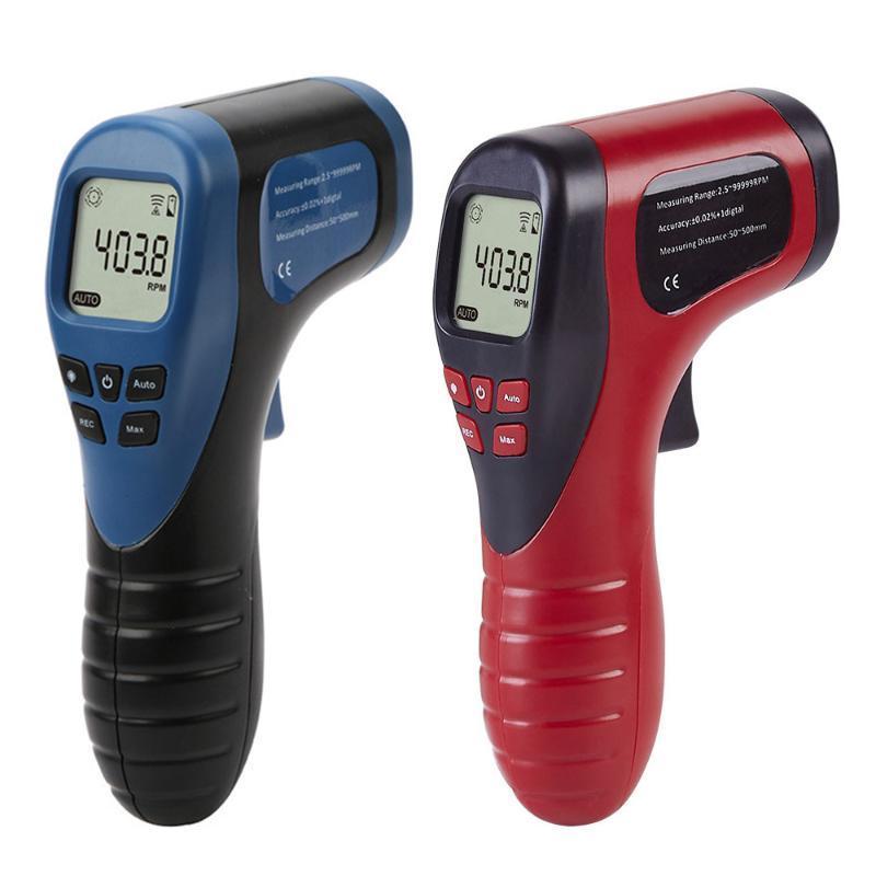 Carro LCD Digital Photo Tachometer Non-Contact RPM Medidor de velocidade do motor Medidor de velocidade do carro Tach medidor velocímetro Repair Tool
