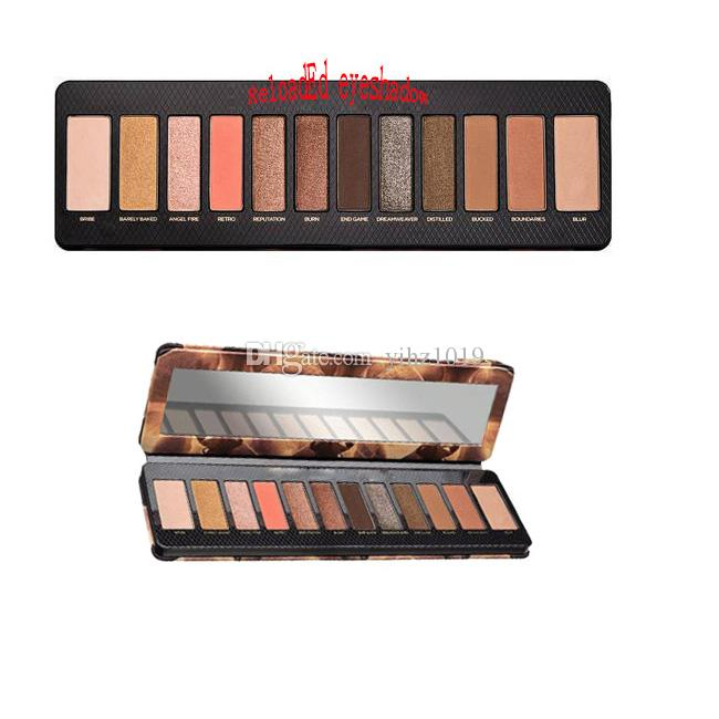 STOCK STOCK Hot newest 12 colors eyeshadow Super beauty New Reloaded makeup palette Eye Shadow palette DHL free shipping