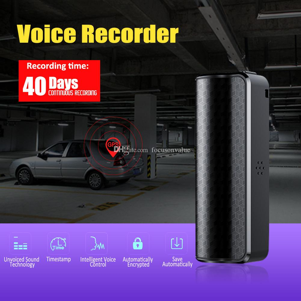 Q70 8GB Audio Voice Recorder Magnetic professional Digital voice recorder HD Noise Reduction mini Dictaphone DHL free shippping