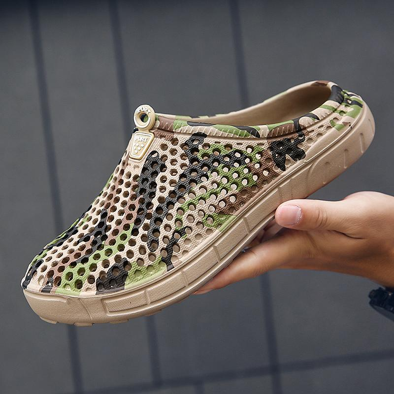 Original da aleta clássico tamancos Jardim dos falhanços de água Shoes Men Verão Praia do Aqua Slipper Outdoor Eva mulas Sandals jardinagem Sapatos