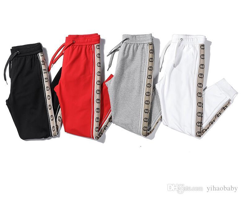Novas mulheres e homens calça casual homem calças esportivas calças de alta qualidade da moda algodão unissex calças desportivas ao ar livre FSS30728