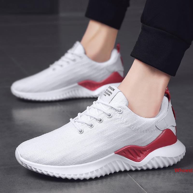 Moda transpirable zapatos corrientes para los hombres Mujeres Triple Negro oro blanco Correr Caminar corredores Formadores Diseñador zapatilla de deporte 39-44 Hecho en China