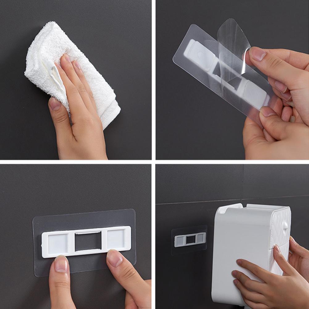 방수 욕실 벽 마운트 티슈 화장지 롤 홀더 스토리지 박스 케이스 화장지 홀더 종이 튜브 스토리지 박스 홈