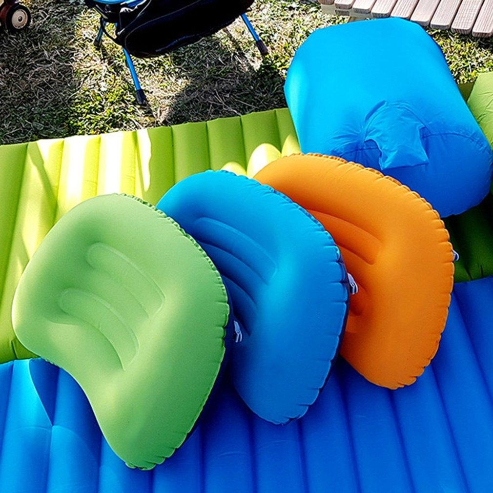 Outdoor Ultra Light Super Soft Portable Inflatable Hiking and Camping Camping & Hiking Siesta Neck Back Car Travel Pillow Tent Pillow