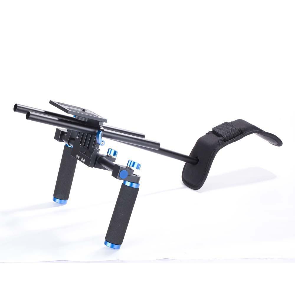 معدات التصوير الفوتوغرافي SLR كاميرا الفيديو كيت استقرار قوس الكتف لمعدات السينما