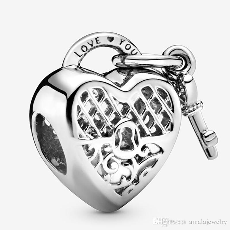 Solid 925 Sterling Silver Barrel with Musical Notes Charm Bead