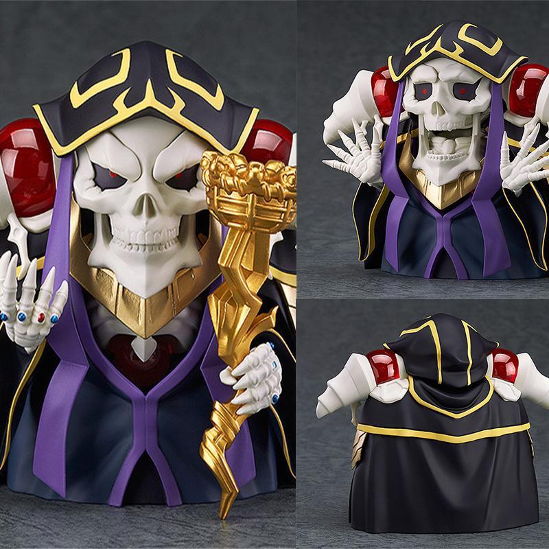 Anime Overlord Ainz OOal Gown Nendoroid 631 Cute Kawaii Super Hero 10cm Action