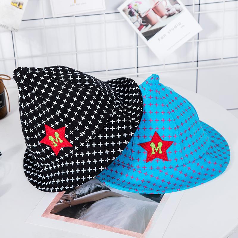 Baby Cotton Visor Trend Round Edge Cone Cap 0-3 Years Old Children Cute Cartoon Cap Crochet Hats Elf Magician Hat