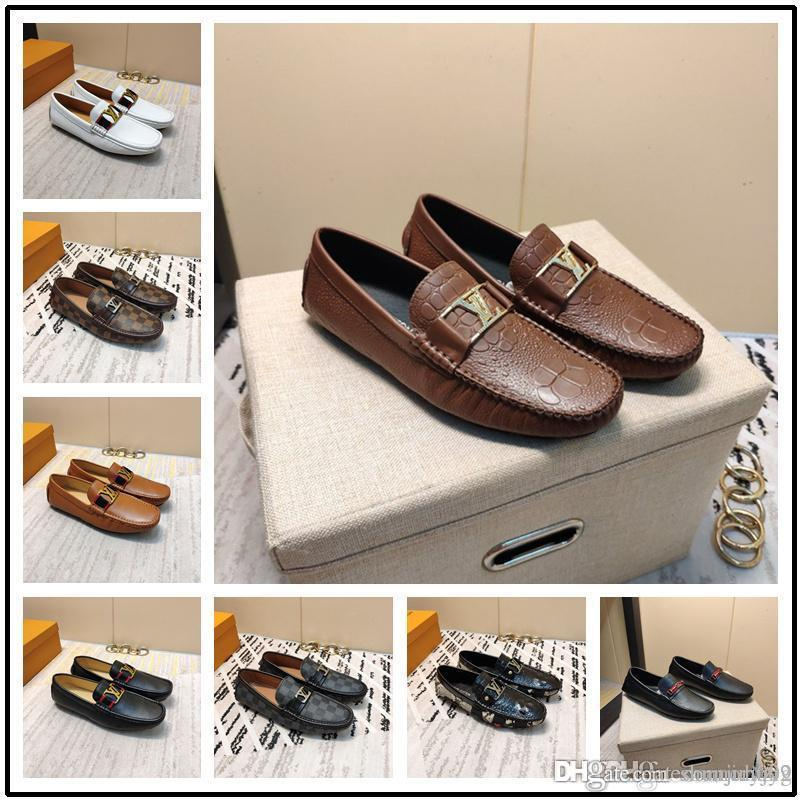 38-44 Marka Yaz Erkekler Sneakers Nefes Gerçek Deri Krasovki Erkekler Günlük Ayakkabılar Rahat Ayakkabı Slip