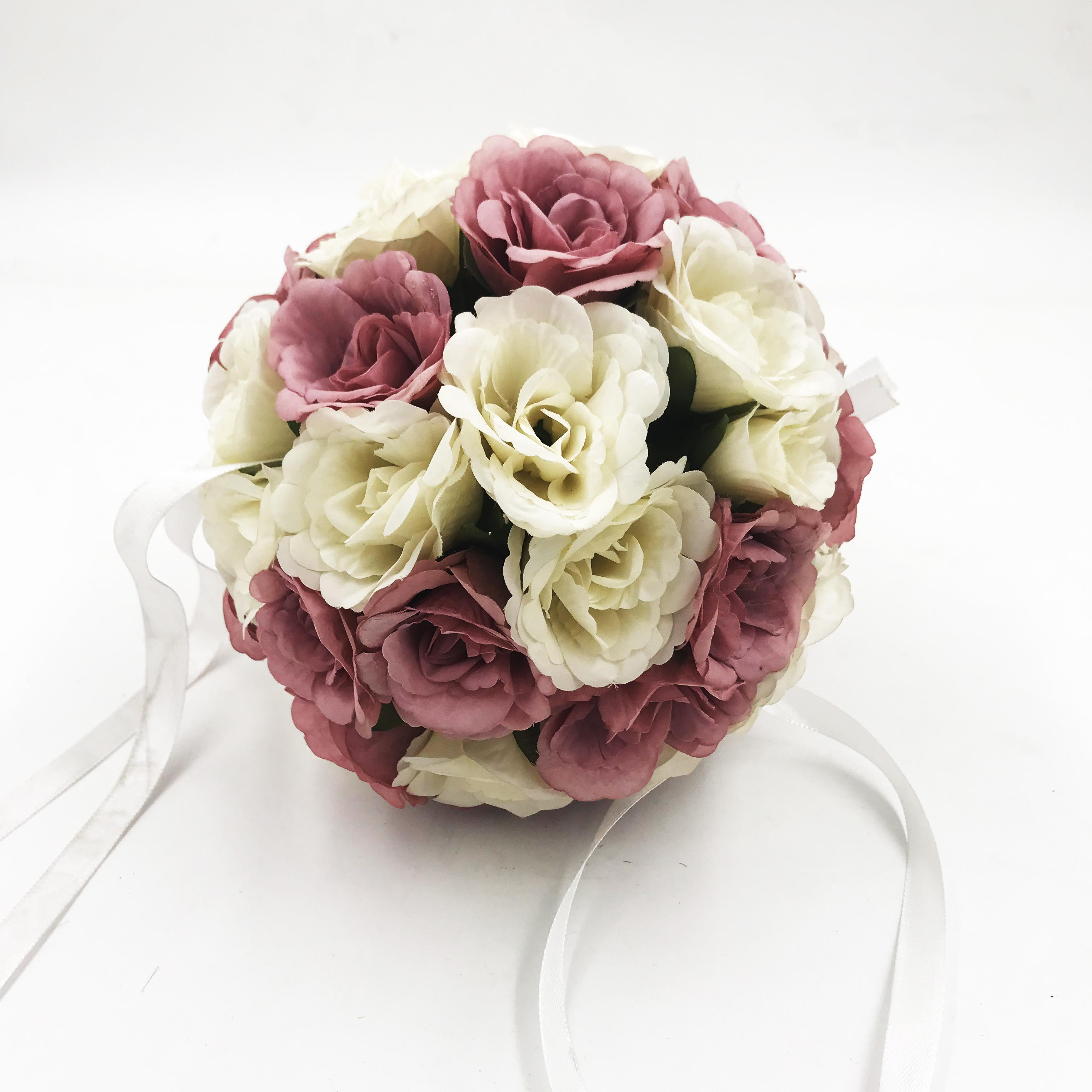 hot selling artificial rose ball
