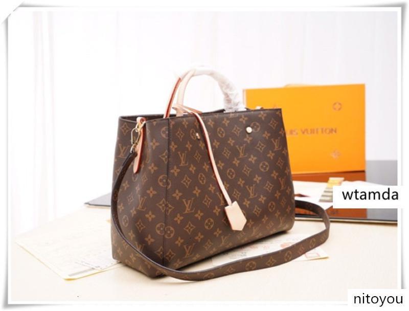 vera pelle sacchetto di modo messengner borsa a tracolla dal design di lusso marchio di moda della borsa della borsa dal design di lusso M41055 M41056 M41057