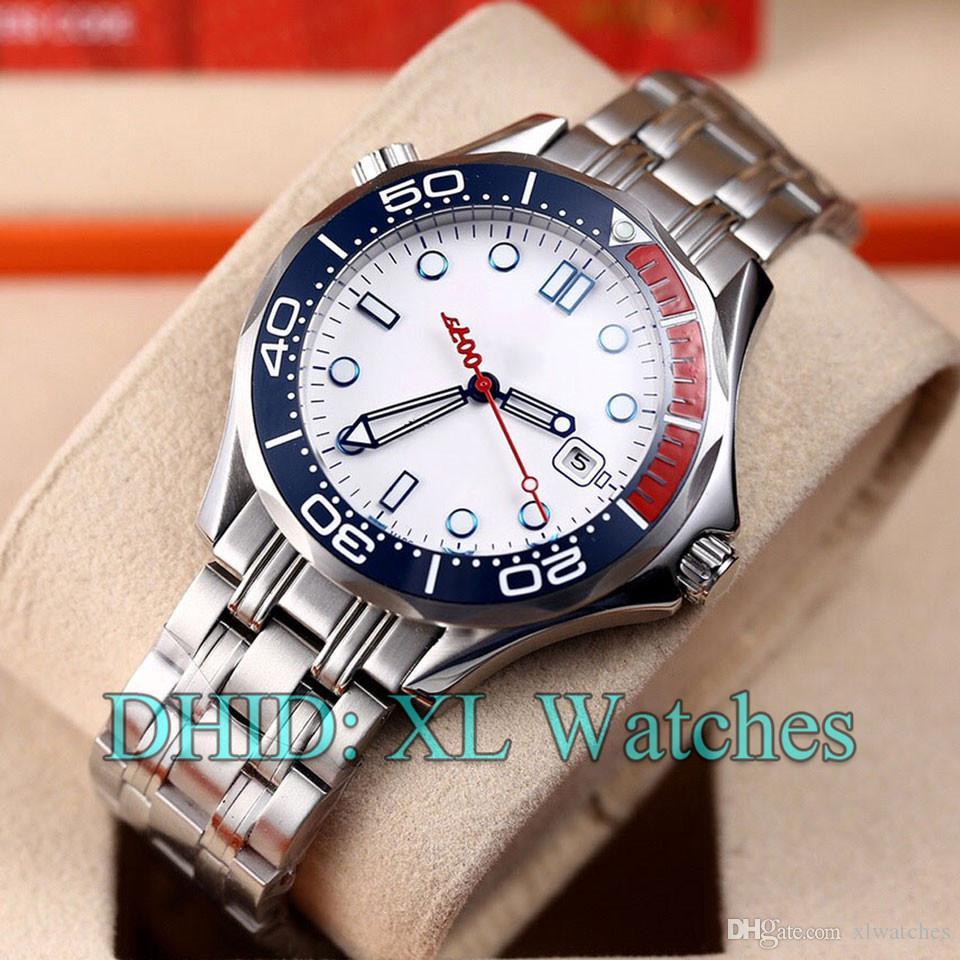 Mens Kommandant limited edition Armbanduhren 212.32.41.20.04.001 212.30.41.20.03.001 Stahl 316L Relógios mens de luxo Frau Luxusuhren