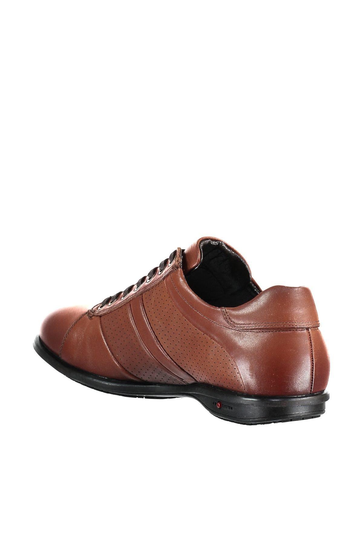 Véritable perle cuir Tan Homme Chaussures 120119566014