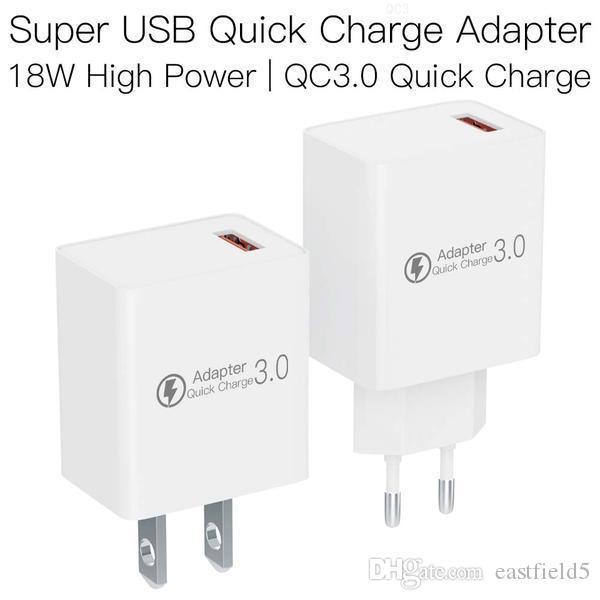 JAKCOM QC3 Súper USB adaptador de la carga rápida de nuevos productos de adaptadores de teléfono celular como muñecas purpurina comestible de santa sacos