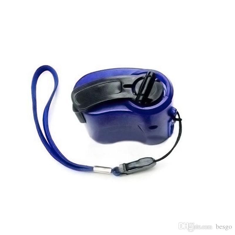 All'ingrosso di emergenza della manovella del caricatore del telefono mobile Mini USB di ricarica dinamo esterno portatile del cellulare manovella caricatore DH1367 T03