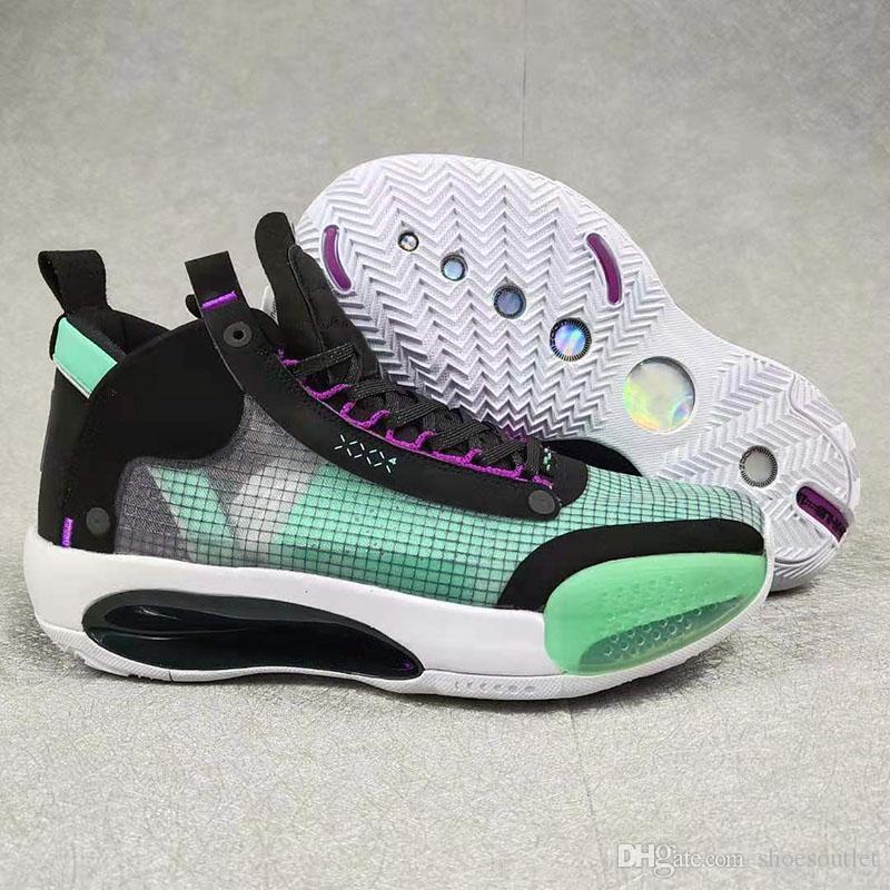 zapatos casuales para hombre 34s de diseño de baloncesto jumpman J34 XXXIV Eclipse Azul Vacío ámbar Rise Snow Leopard Bred Blanco Negro tamaño rojo US 12 EU 46
