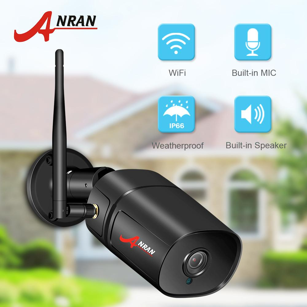 ANRAN IP Camera Wifi HD Outdoor Infrared Night Vision Security Camera Two Way Audio Wireless Video Surveillance Camera