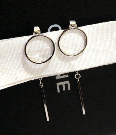 2020 Wholesale Fashion Designer Unique Geometry Metal Tassel Long Drop Stud Earrings For Woman Girls Gold Silver From Hongshu33 16 15 Dhgate Com
