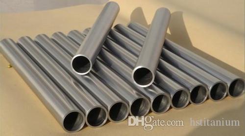 Dikişsiz veya kaynaklı Gr5 / GR2 Titan titanyum tüp Çin Fiyat Çin Yapımı Gr1 Gr2 Gr5 Astm B337 Od 1 Inç titanyum tüp fiyat
