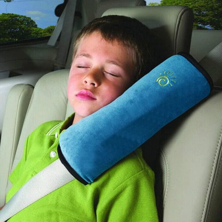 1pc 베이비 자동차 자동 안전 좌석 벨트 하네스 어깨 패드 커버 어린이 보호 커버 쿠션 지원 자동차 베개 좌석 벨트