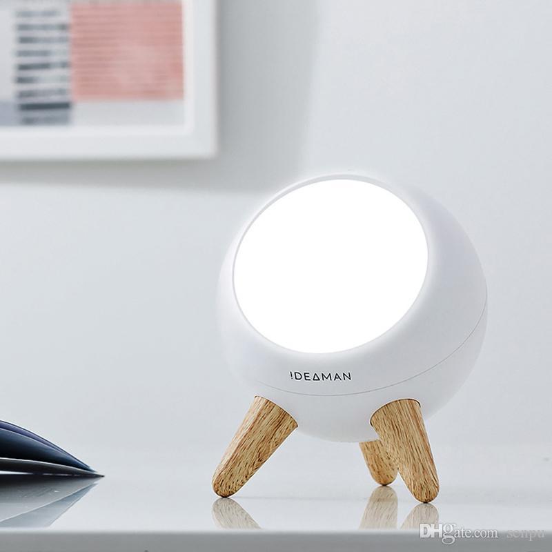 Светодиодная Умная настольная лампа обучающая лампа чтение офисная настольная лампа прикроватная ночная лампа функция датчика жестов белый свет