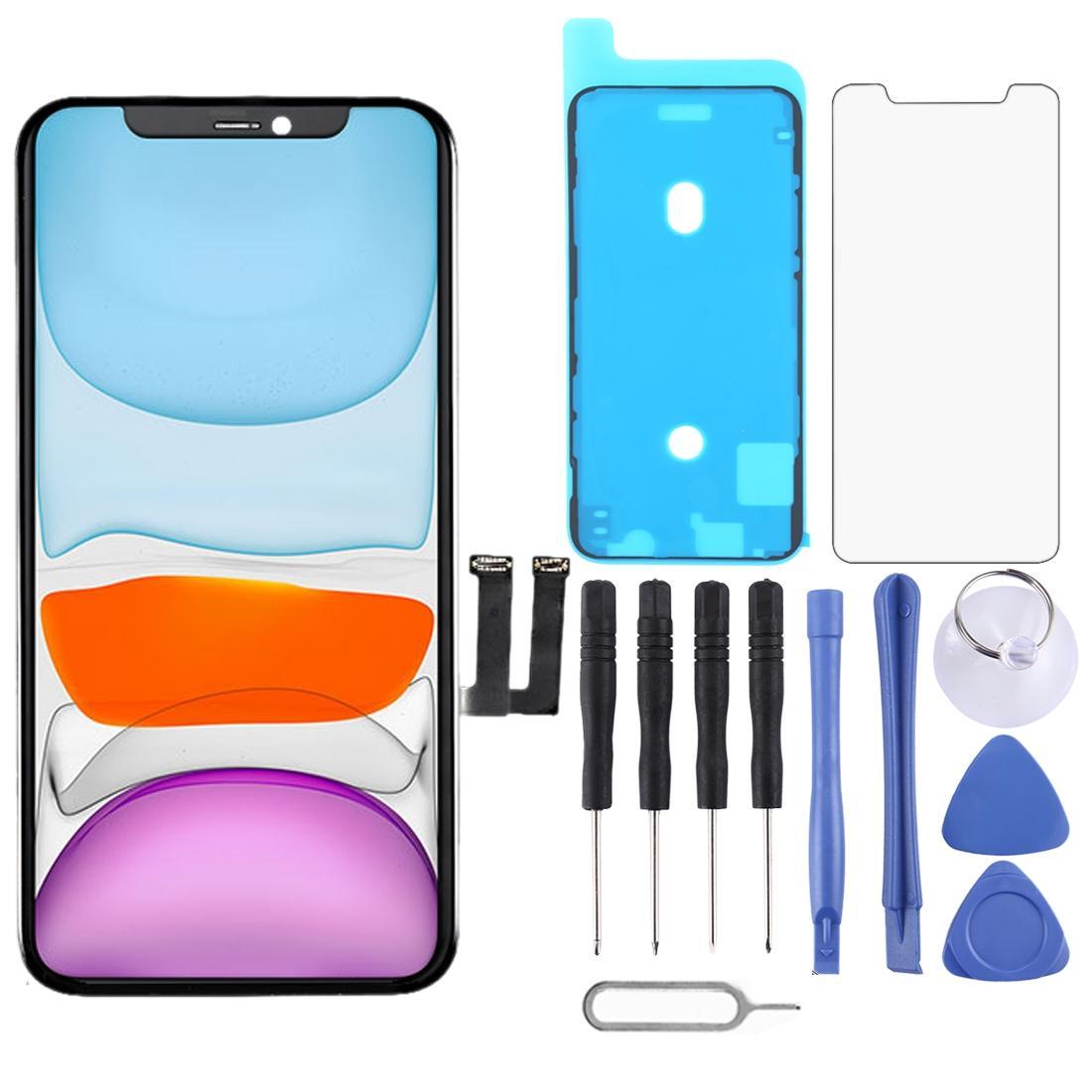 Schermo LCD 2020 Grado A +++ e Digitizer Assemblea completa con telaio per iPhone Pezzi di ricambio 11 a cristalli liquidi con il regalo