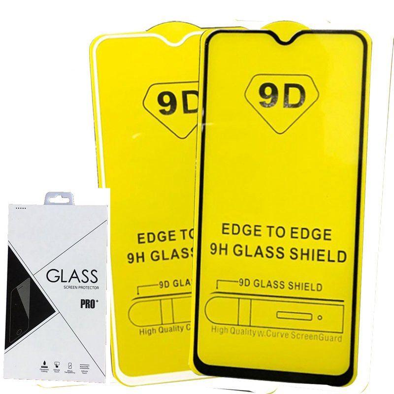 Einzelhandelspackung voller Abdeckung 21D 9D gehärtetes Glasplattfolktor Abkleber für iPhone XR xs max 6 7 8 plus 100 teile / los