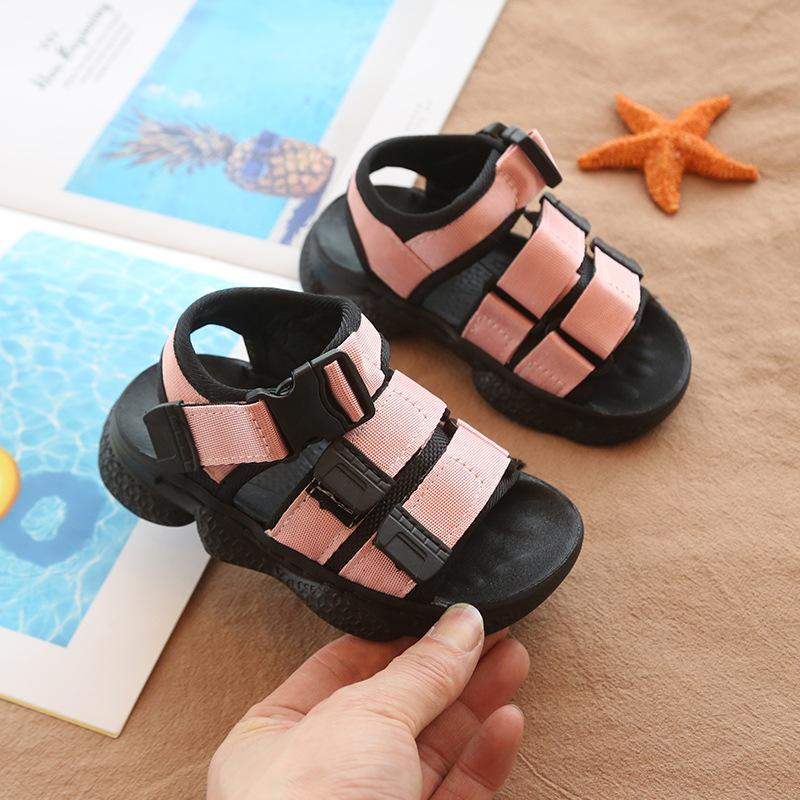 Fashion Children Boys Sandals Youth Students School Beach Shoes Casual Sandals