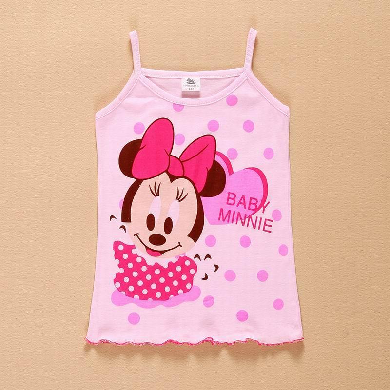 Desgaste de nuevos tanques de chicas 2016 niños del chaleco de la playa ropa del verano del bebé del algodón sin mangas Tops