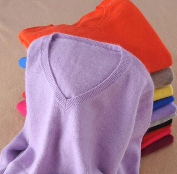 Suéter de cashmere 2019 Primavera Outono V-pescoço camisola de malha de inverno mulheres suéteres e pulôveres puxar femme hiver ponte pullover