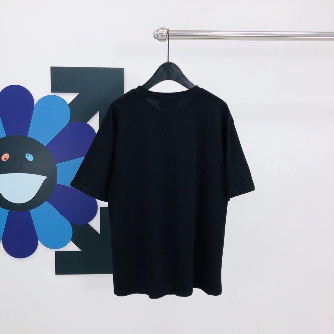 2020 nuove signore della maglietta di modo camicia della parte superiore di estate di alta qualità manica corta migliori signore 3Y5A
