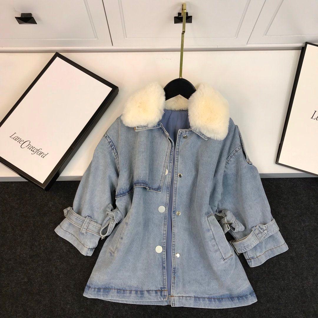 Дети пальто 2020 осень и зима пальто мода новых мальчиков и девочек, детская одежда WSJ012 # 121938 w04
