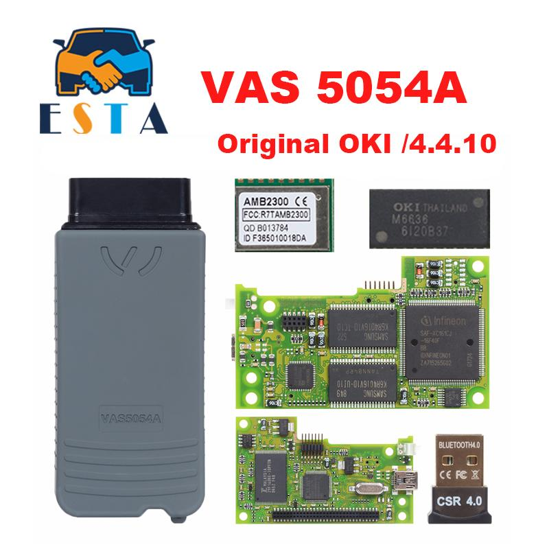 UK Car 5054A ODIS V4.4.10 Interface Diagnostic Full Chip Accessories W//Bluetooth