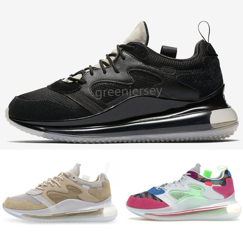 720 OBJ de los zapatos corrientes del desierto mineral multi joven rey de las zapatillas de deporte El goteo Hombres Mujeres ser verdad Triple Negro desierto blanco mineral Chaussures
