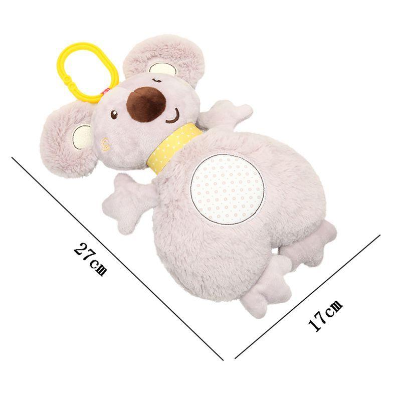 Kids Baby Toys Rabbit Sleeping Comfort Musical Plush Rattle Toy Doll Multifunctional Appease Towel Saliva Towel Koala Doll 2