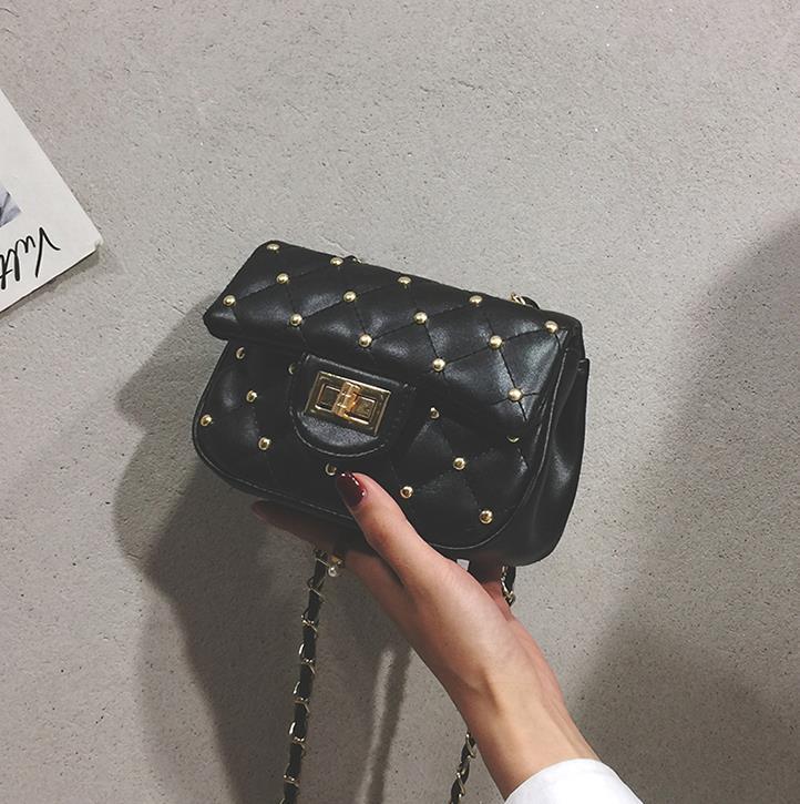 Новый ins wild mini сумка через плечо messenger bag small ck foreign small ароматный ромб цепочка сумка
