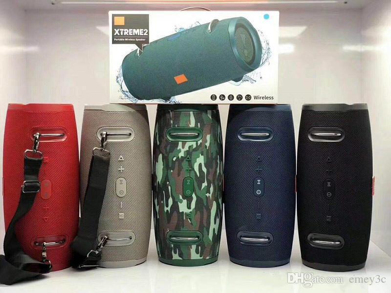 1 unids Xtreme2 Altavoz Bluetooth inalámbrico HIFI Mini Subwoofer Portátil Alto Altavoz Bluetooth Altavoz deportivo para iPhone 11 Samsung