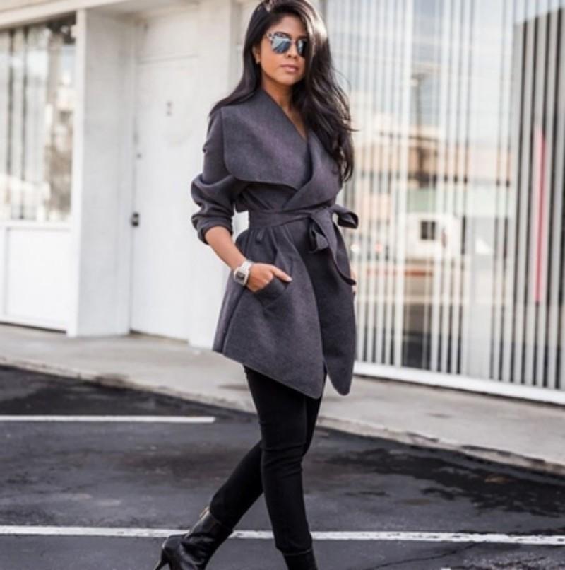 XUXI 2019 Manteaux Manteaux femmes Vestes d'automne Vêtements Vintage Femmes Automne Nouveau mode Femme Vêtements Femme Veste FZ284