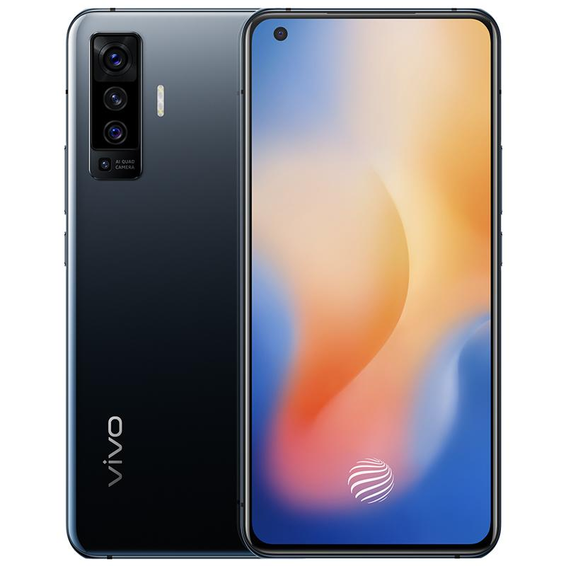 "Original VIVO X50 5G LTE Mobile Phone 8GB RAM 128GB 256GB ROM Snapdragon 765G Octa Core Android 6.56"" Full Screen 48MP Face ID Cell Phone"