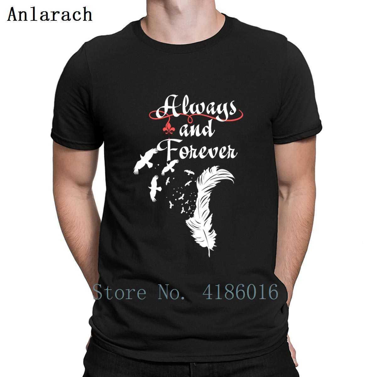 Gli originali sempre e per sempre la maglietta divertente del modello di stampa Fit S XXXXXL-Letter molla camicia di cotone