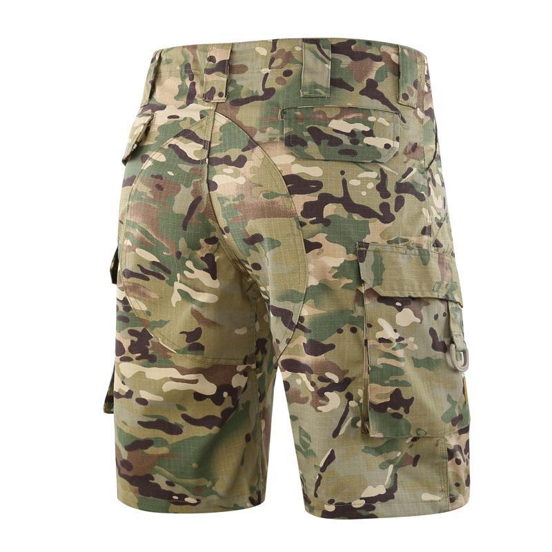 Pantalones Fondo Tad ESDY Aire libre Swim Formación caballería Multi Bolsa táctica del Ejército Pantalones Pantalones cortos masculino al aire libre velocidad Do Pantalones cortos