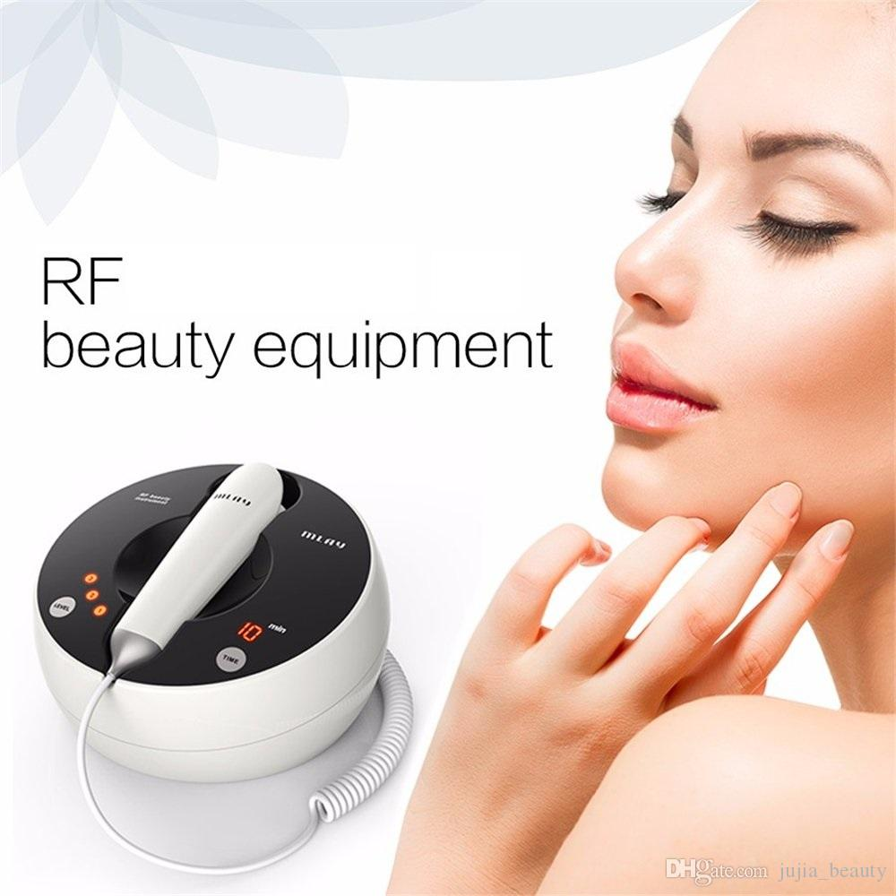 İhale Galvanik Spa Kırışık Karşıtı Mikro Akım Güzellik Cihazı Kaldırma Evde Kullanım RF Cilt Gençleştirme Beyazlatma Makinesi Yüz