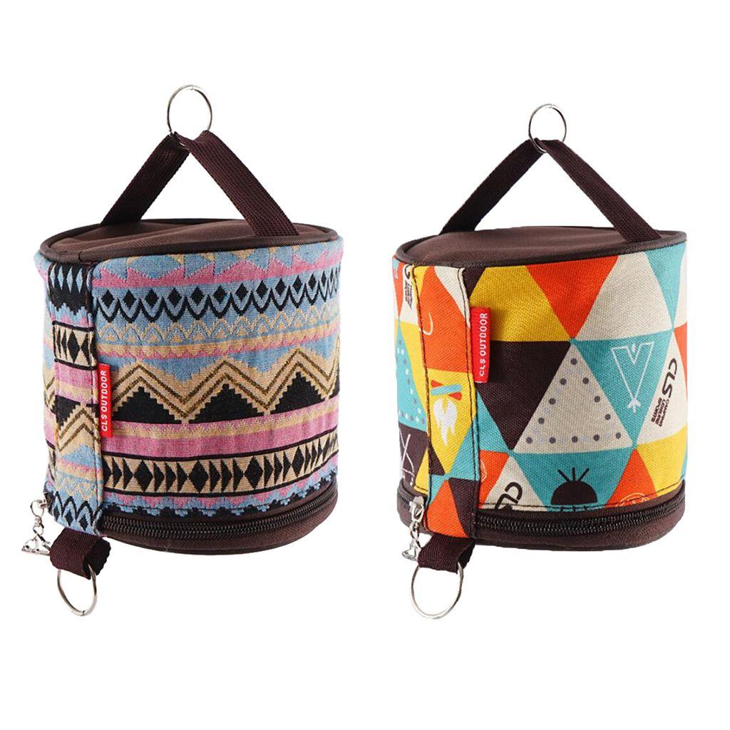 하이킹 피크닉 액세서리 캠핑 텐트 접는 화장지 매달려 홀더 롤 케이스 스토리지 박스 가방