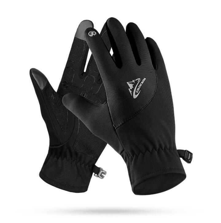Outdoor-Screen-Handschuhe wasserdichter Lauf einen.Kreislauf.durchmachenhandschuh volle Finger Bergwinddichtes Winter warme Handschuhe